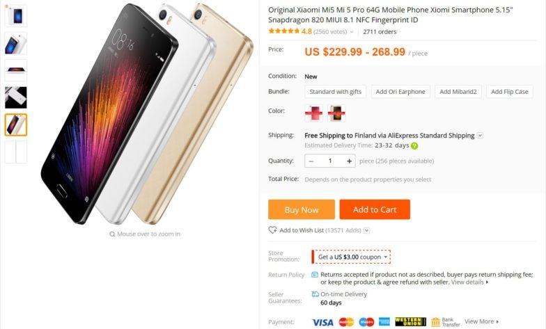 Xiaomin puhelin räjähti, yritys ei ota minkäänlaista vastuuta