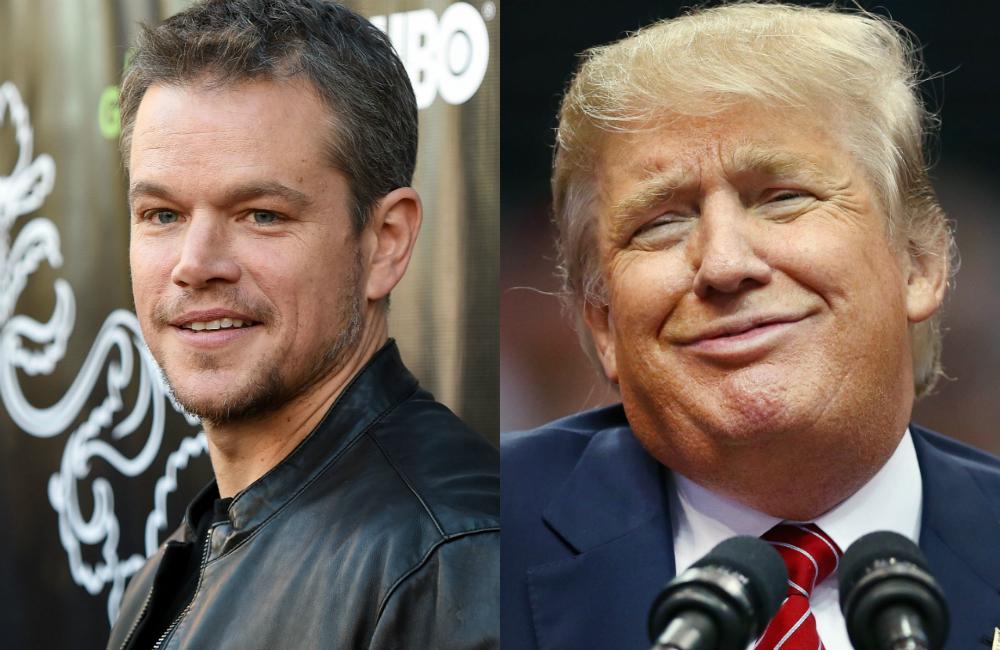 Matt Damon Kertoo Miksi Donald Trump N 228 Htiin Turhissa