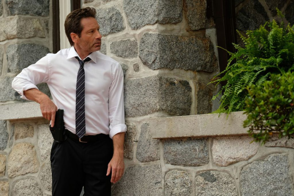 """THE X-FILES:  David Duchovny in the """"My Struggle III"""" season premiere episode of THE X-FILES airing Wednesday, Jan. 3 (8:00-9:00 PM ET/PT) on FOX. ©2017 Fox Broadcasting Co. Cr: Robert Falconer/FOX"""
