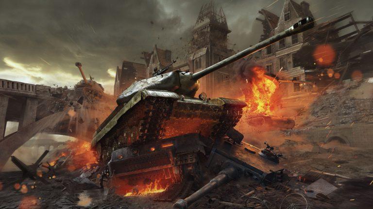 World of Tanks -kuvakaappaus.