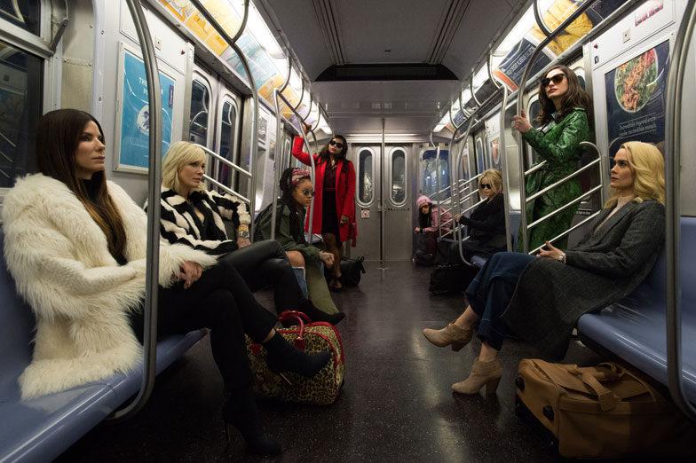 Arvostelu: Hollywoodin naistähtiä tulviva Ocean's 8 keskittyy turhanpäiväisyyksiin jännityksen ...