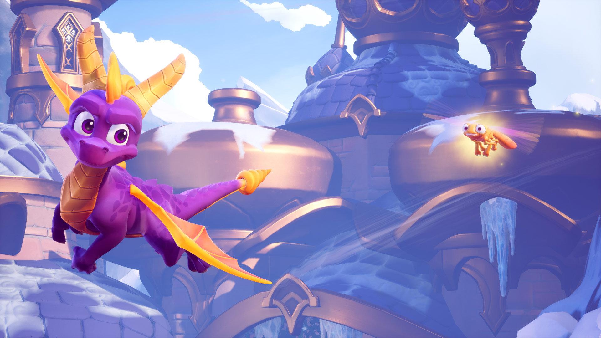 Spyro-pelien remasterointi lykkääntyy – trilogiassa riittää vielä työtä
