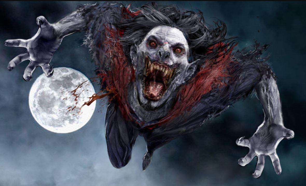 Jared Leto Morbius >> Kuva Jared Leto Jakoi Ensimmaisen Otoksen Morbius