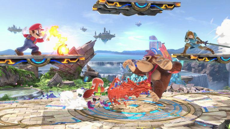 Super Smash Bros Ultimate kamppailua