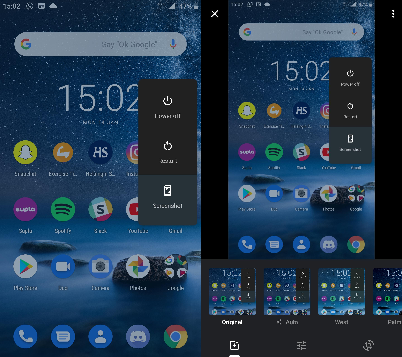 Android 9 Päivitys