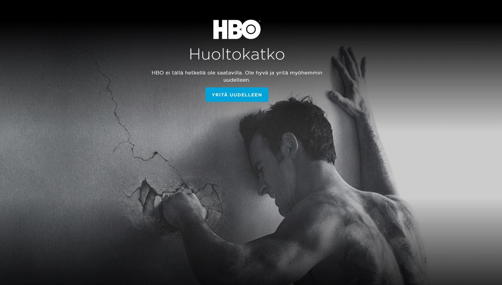 Hbo Huoltokatko