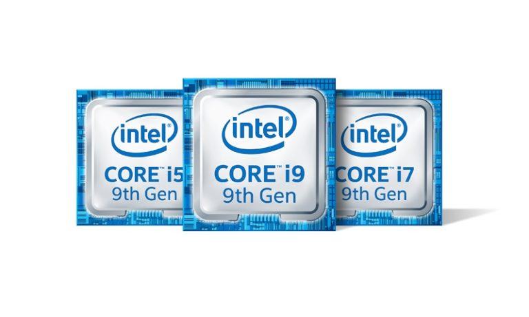 Intel CPU 9th gen