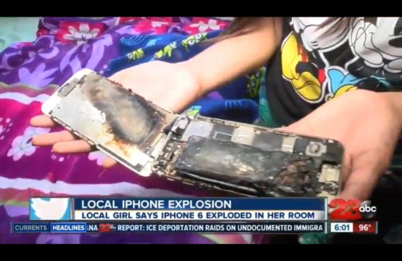 iPhone räjähdys
