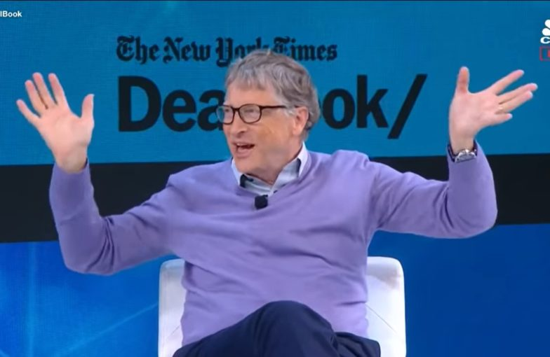 Bill Gates New York Times DealBook Conference