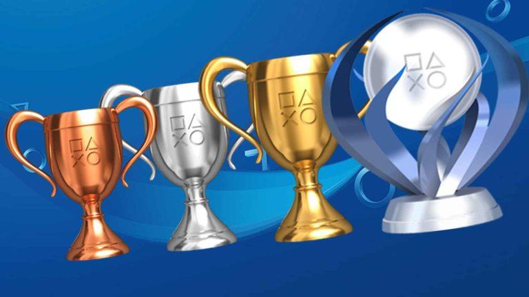 PlayStation Trophy.
