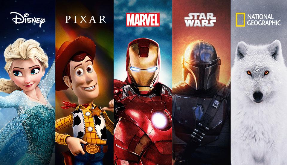 Disney + Elokuvat