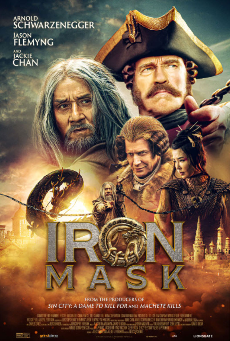 Reseña Se ha encontrado la peor película del año: Iron Mask, comercializada  por Arnold Schwarzenegger, es un impulso terrible entre todos los malvados