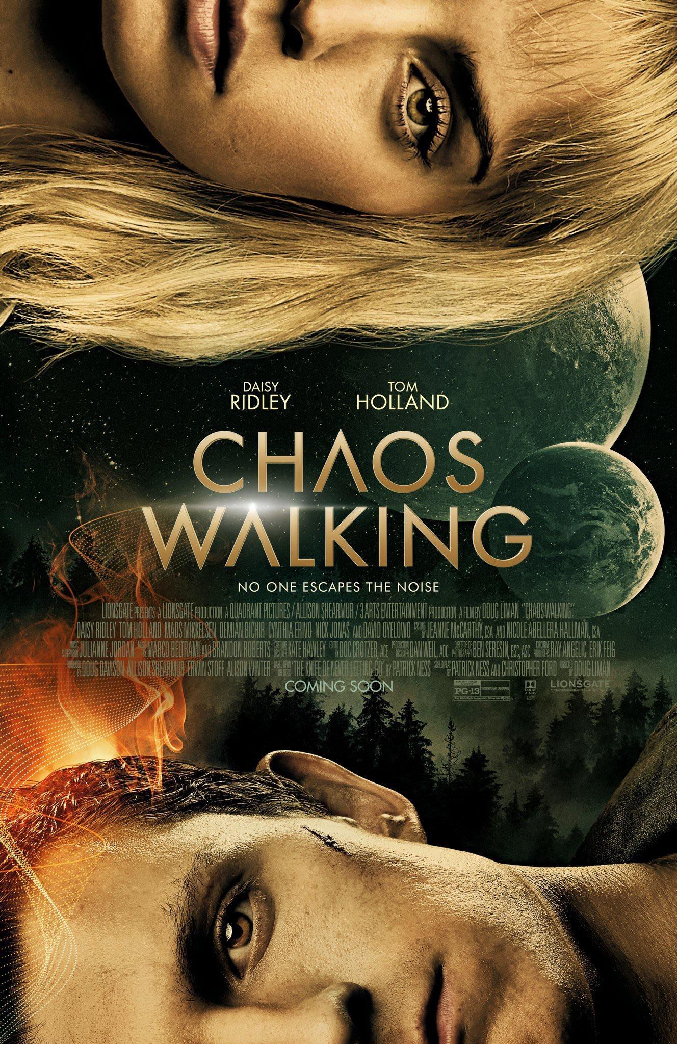 Chaos Walking -juliste