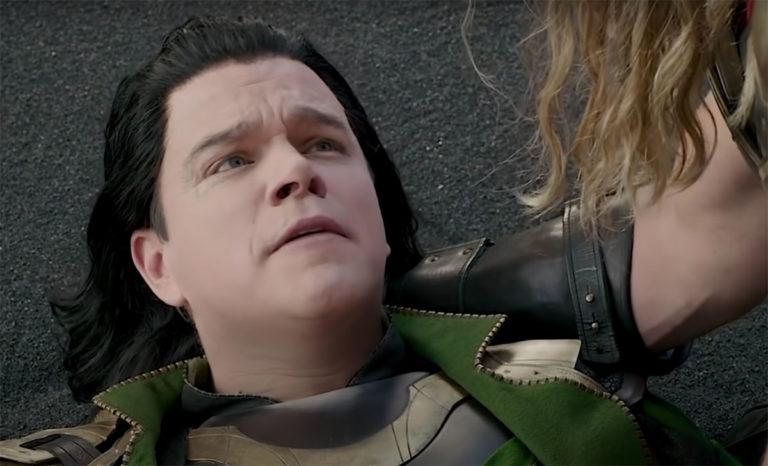 Matt Damon / Loki-cameo