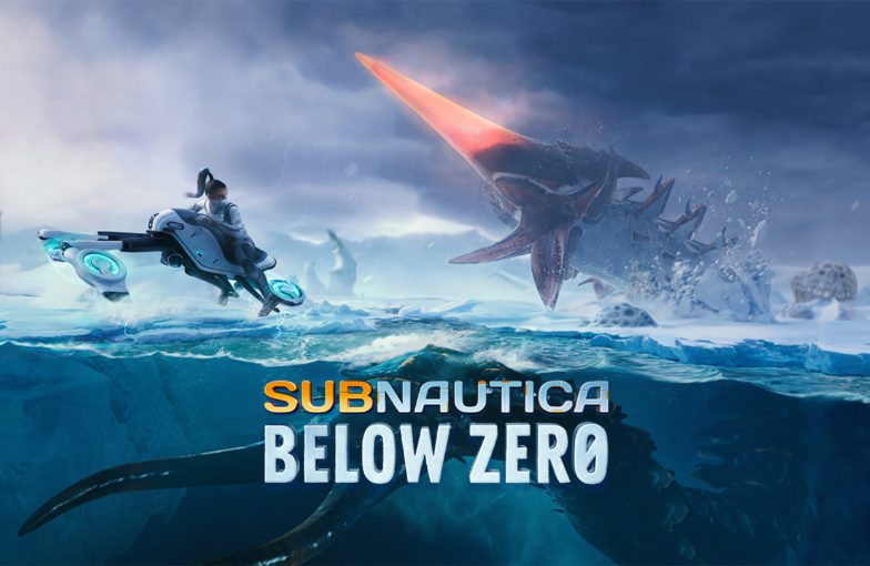 Below Zero -kuvitusta