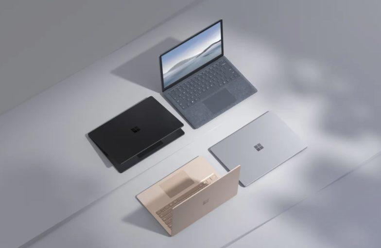 Microsoft esitteli Surface Laptop 4 -kannettavien malliston – vaihtoehtoina Intelin tai AMD:n suorittimet