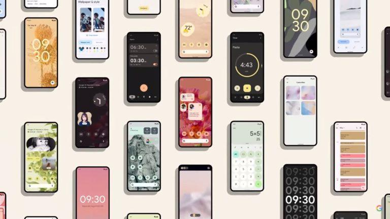 Android 12 kuvituskuva