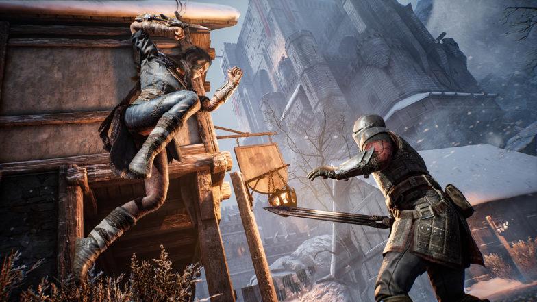 Hood Outlaws and Legends kuvituskuva hyökkäys