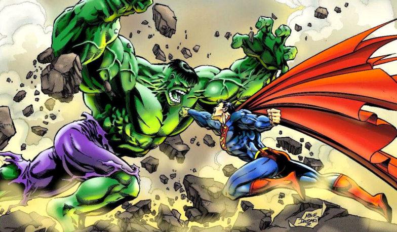 Hulk vs Teräsmies
