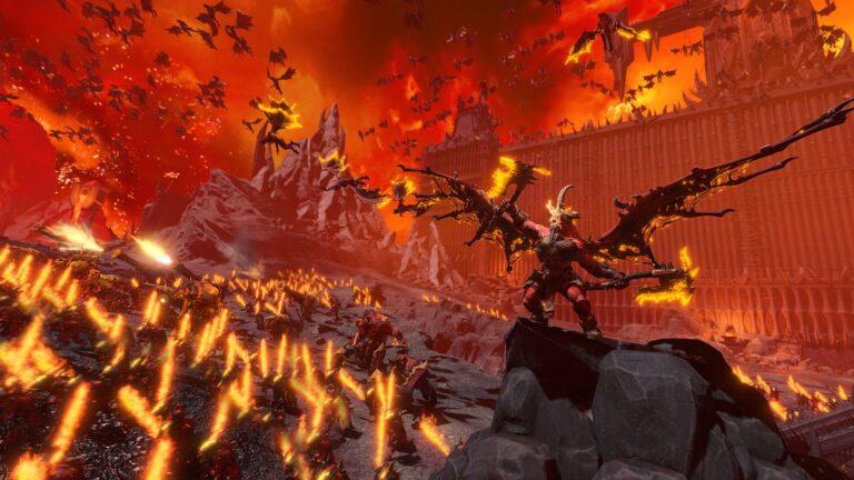 Total War Warhammer 3 Khorne-demoni
