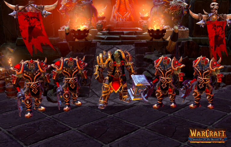 Warcraft 2 uusioversio modi