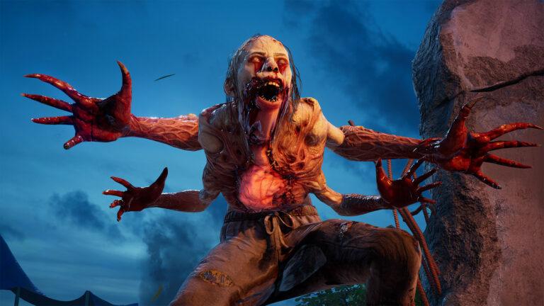 Back 4 Blood -kuvakaappaus zombista.