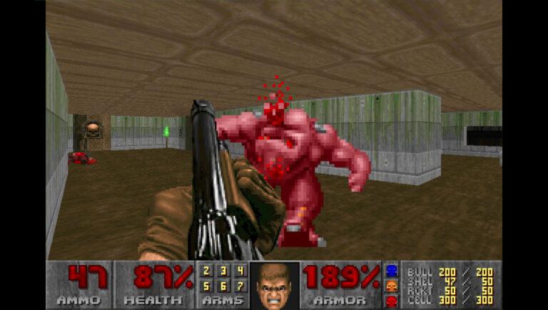 Doom-kuvakaappaus.