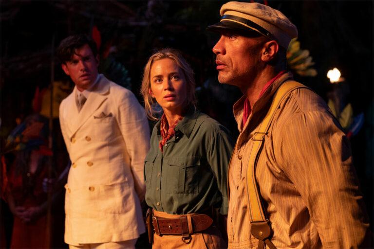 Jungle Cruise / Dwayne Johnson, Emily Blunt, Jack Whitehall