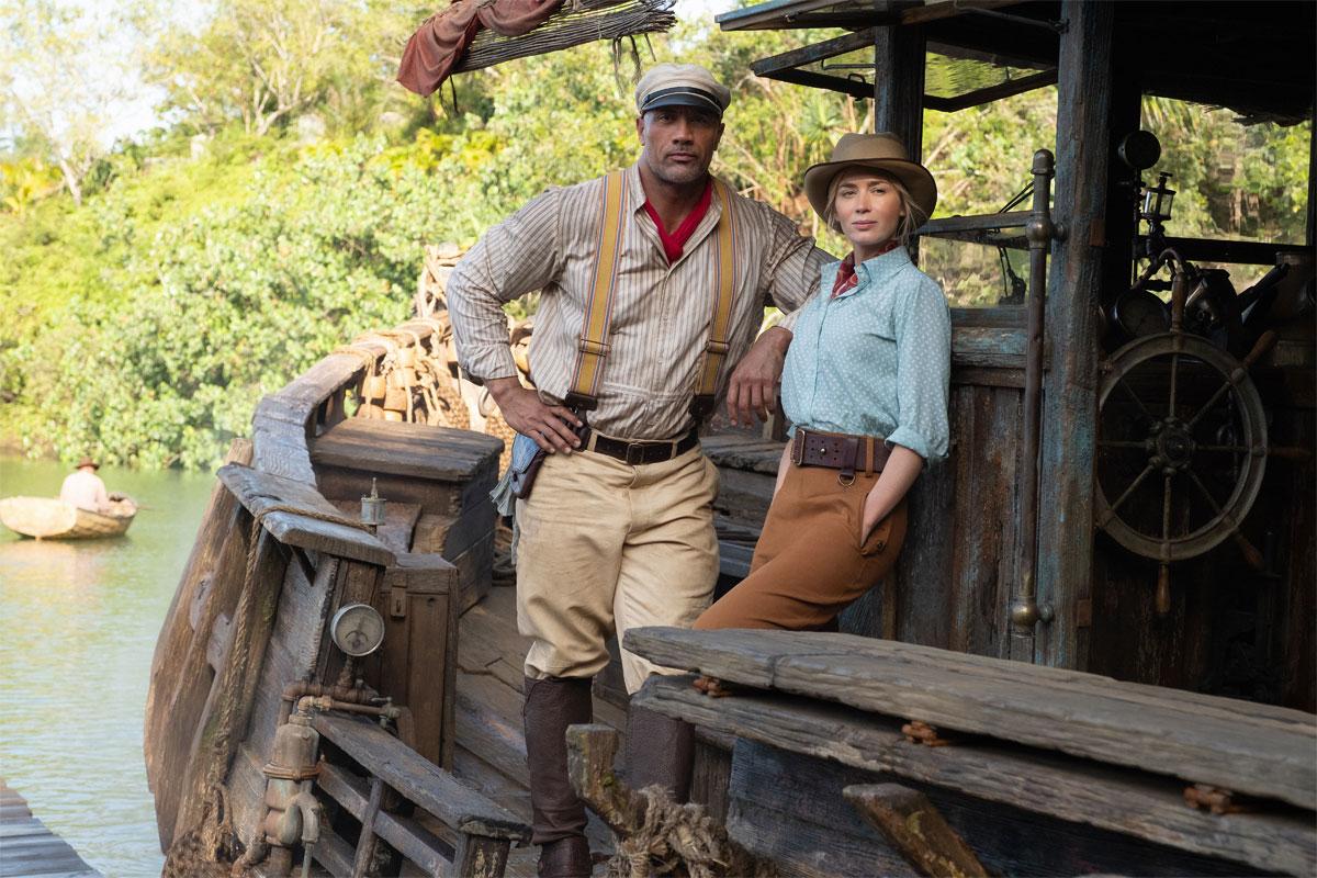 Jungle Cruise / Dwayne Johnson, Emily Blunt