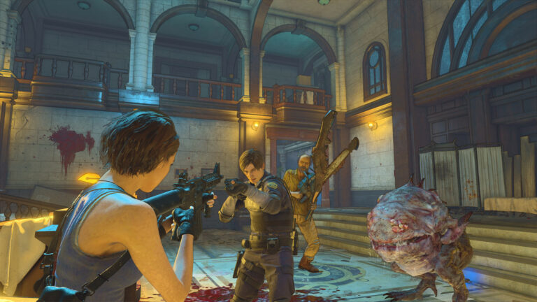 Resident Evil Re:verse.