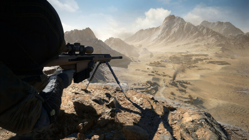 Sniper Ghost Warrior Contract 2 Aim
