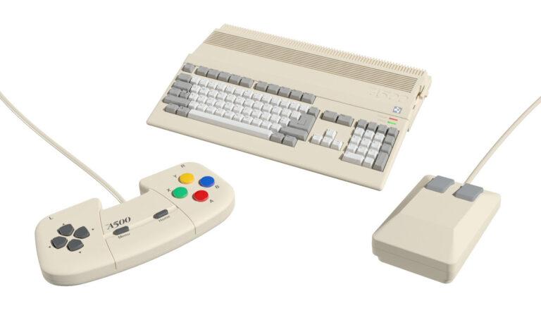 Amiga 500 Mini.
