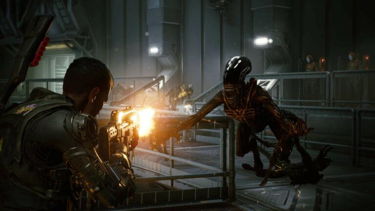 Aliens: Fireteam Elite -kuvakaappaus.