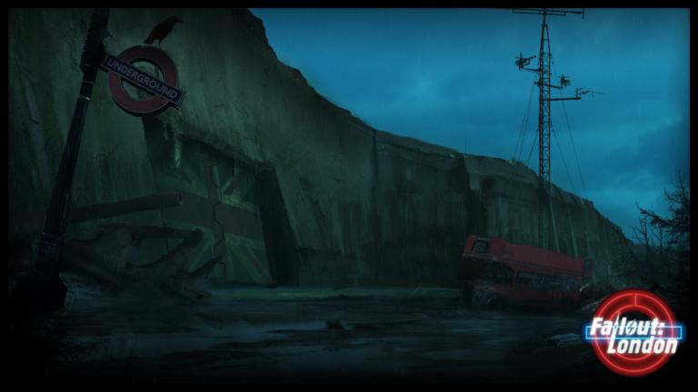 Fallout: London -kuvakaappaus.