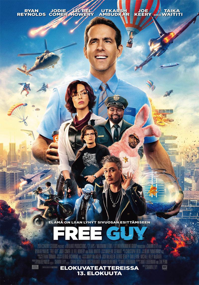 Free Guy juliste