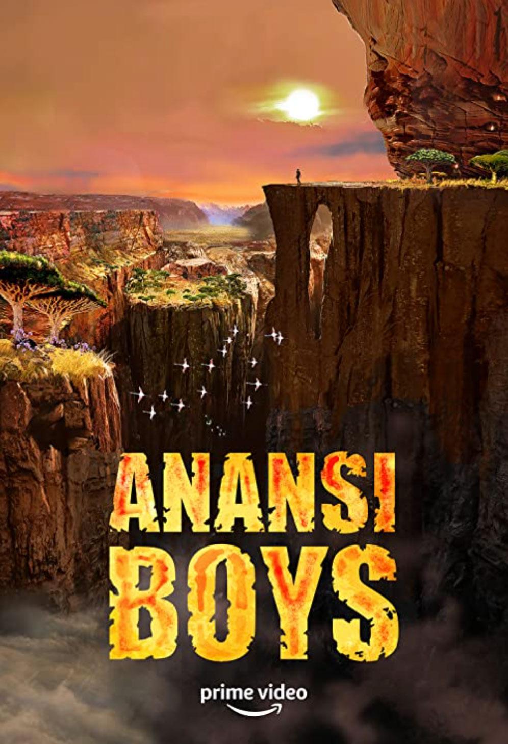 Anansi Boys poster