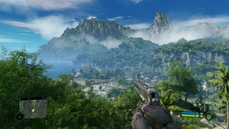 Crysis Remastered -kuvakaappaus.