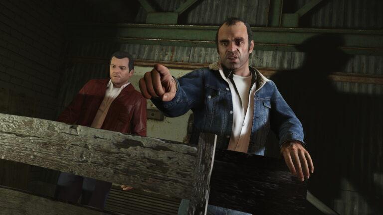 Grand Theft Auto 5 -kuvakaappaus.