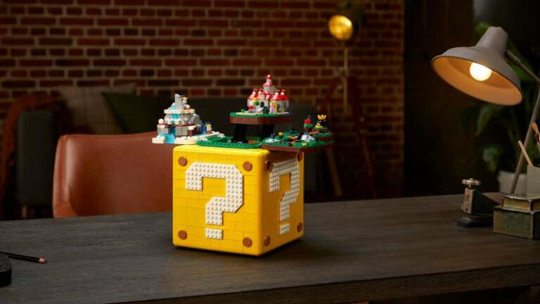 Lego Super Mario 64 Block