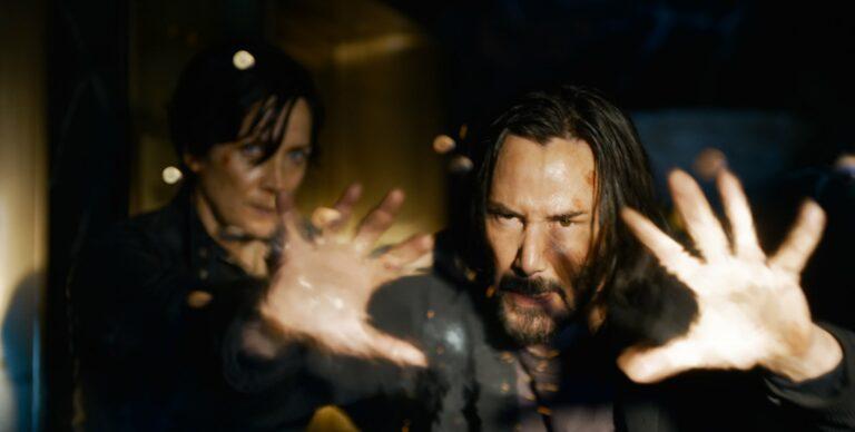 Matrix Resurrections / Keanu Reeves, Carrie-Anne Moss