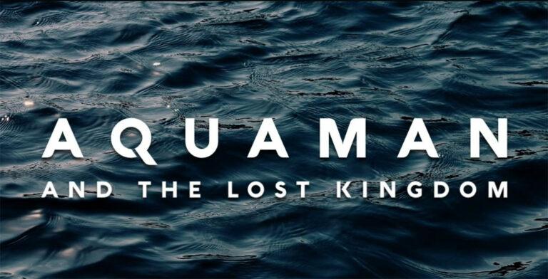 Aquaman and the Lost Kingdom -logoi