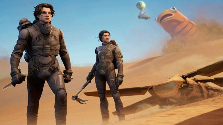 Fortnite ja Dune