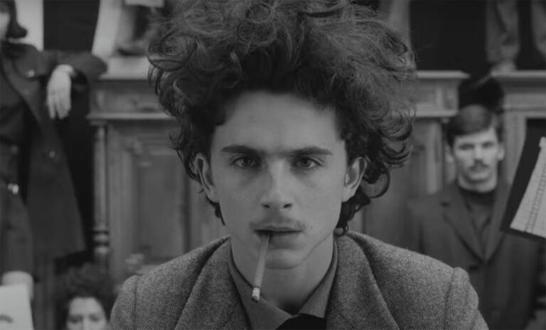 The French Dispatch / Timothee Chalamet