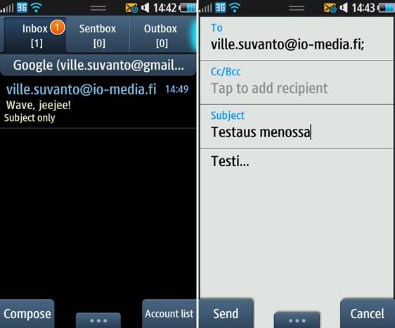 sähköpostiohjelma android Kankaanpaa