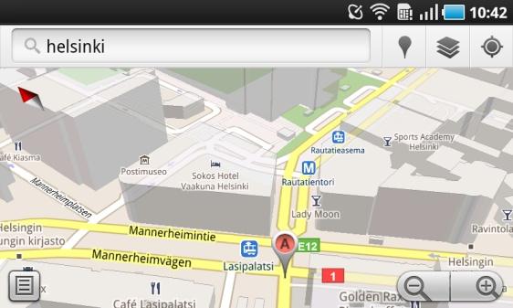 Google Maps 5 0 Ladattavissa Androidille Muropaketti Com
