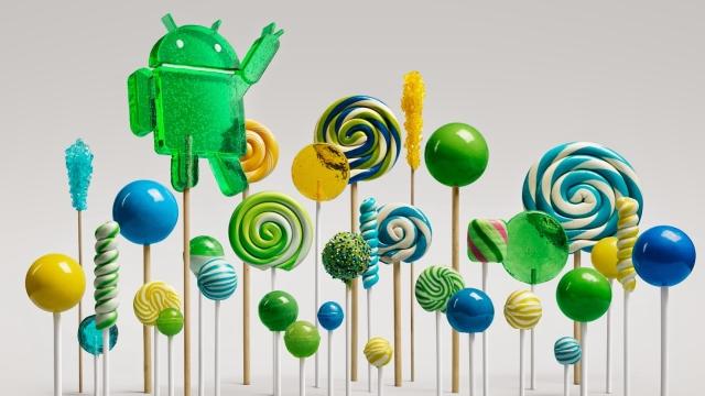 Android 5.0 Lollipop Päivitys