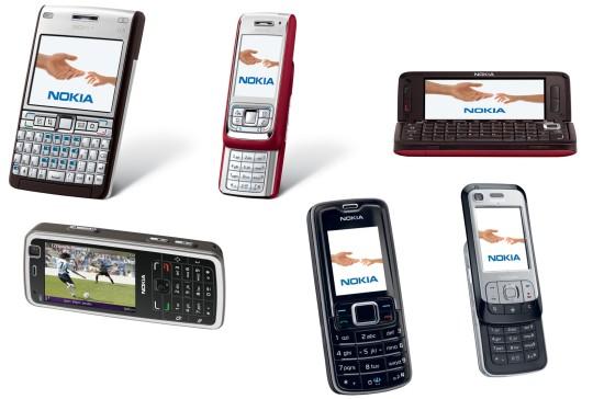 Nokia Puhelinmallit