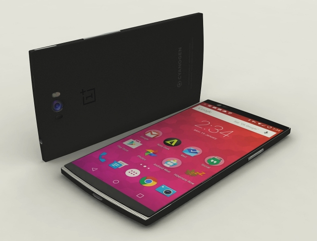 OnePlus Two Concept Render